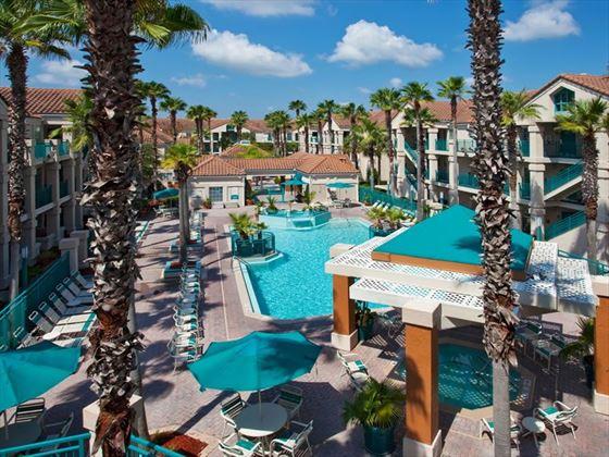 Staybridge Suites pool area