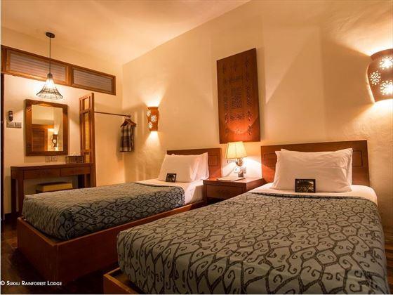 Superior Room at Sukau Lodge