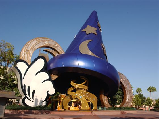 The Sorcerers Hat, MGM Studios, Walt Disney World, Lake Buena Vista, Orlando