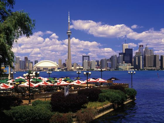 Toronto on Lake Ontario