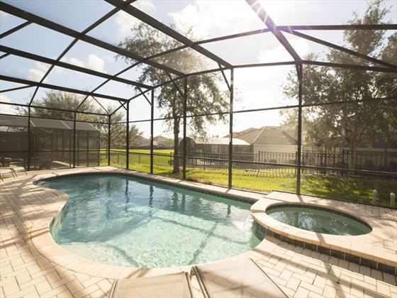 Example of a Windsor Hills Resort Home - Private pool