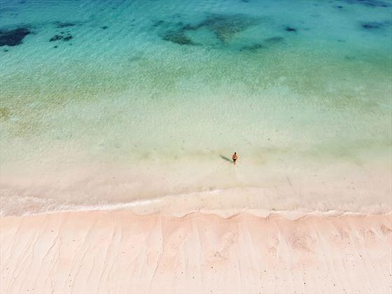 White sand at Zuri Zanzibar