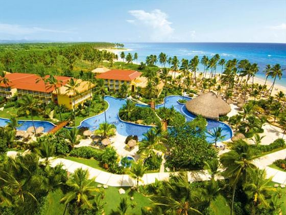 Aerial view of Dreams Punta Cana
