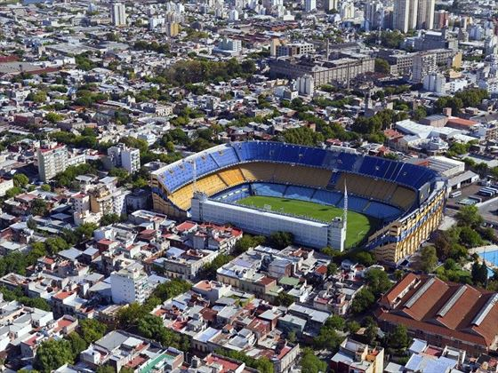 Aerial View of Buenos Aires' Football Stadium (Optional Tour)