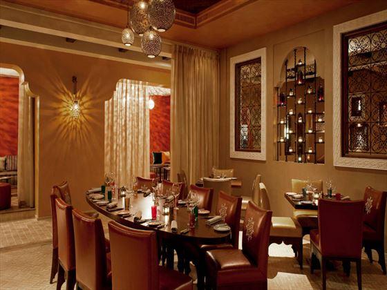 Agadir Moroccan restaurant at Westin Abu Dhabi