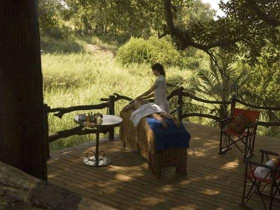 Massage at aha Makalali River Lodge