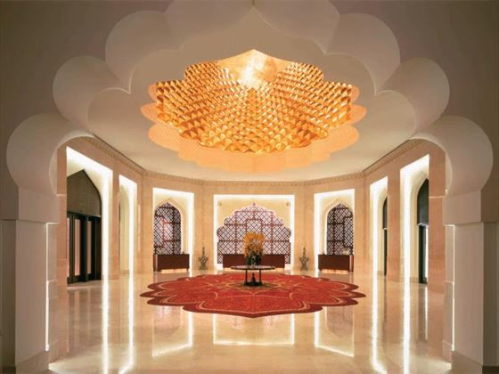 Al Bandar lobby at Shangri-La Barr Al Jissah Resort & Spa