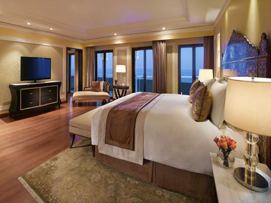 Al Bustan Palace Presidential Suite with Sea View