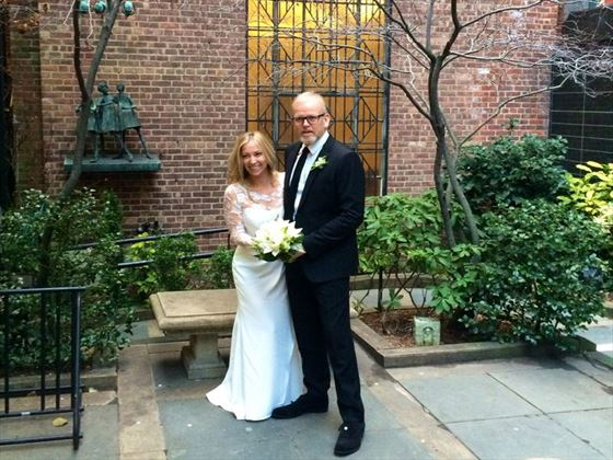 Bride & Groom, All Souls Chapel New York