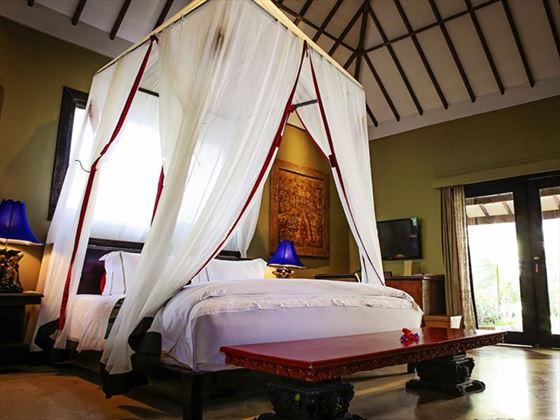 Aloon Aloon Rama Sinta Villa Bedroom, Hotel Tugu Lombok