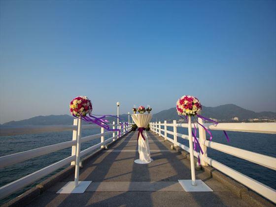 Fantastic wedding setting