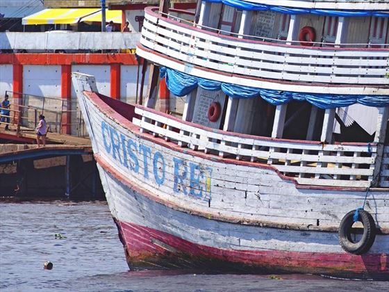 Amazon Manaus Harbour Boat