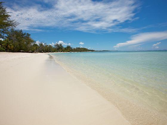 Ambre Resort & Spa white-sand beach