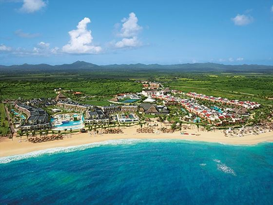 An aerial view of Now Onyx Punta Cana