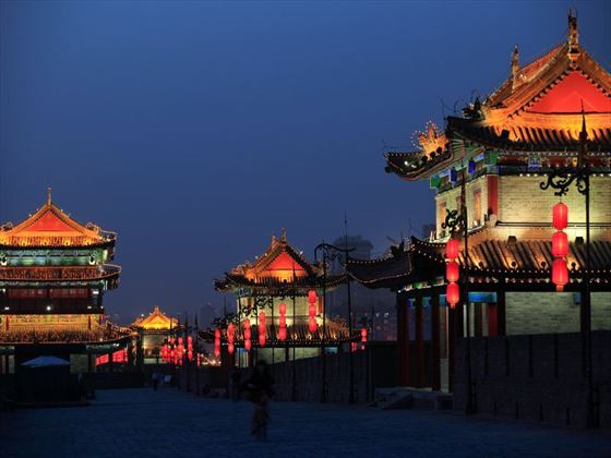 Ancient city walls of Xi'an