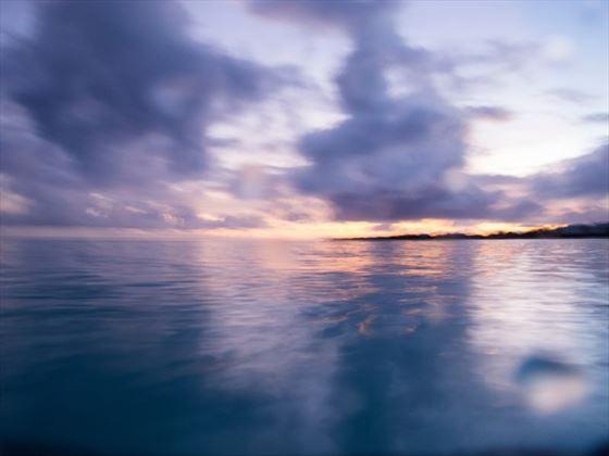 Anguilla at sunset