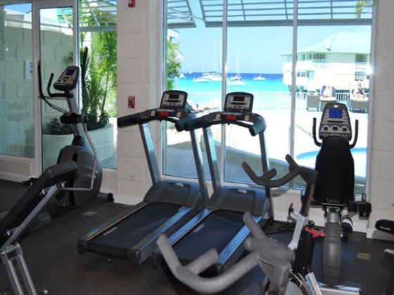Aquatica Beach Resort gym