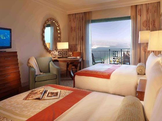Atlantis The Palm Deluxe Queen room
