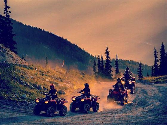 ATV adventure touring in Whistler