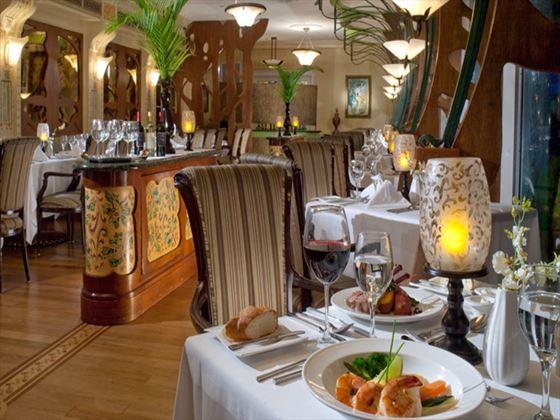 Baccarat restaurant at Sandals Royal Bahamian Spa Resort