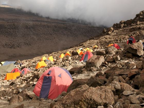 Barafu Camp on the Machame Route