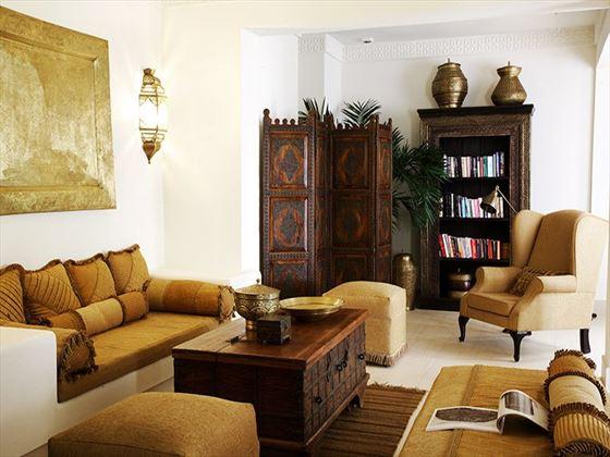 Baraza Resort & Spa library