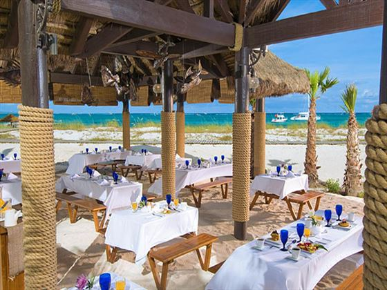 Barefoot by the Sea restaurant at Beaches Turks and Caicos