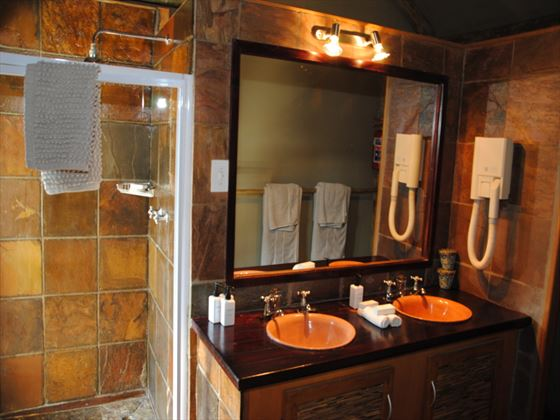Bathroom at Chapungu Luxury Tented Camp