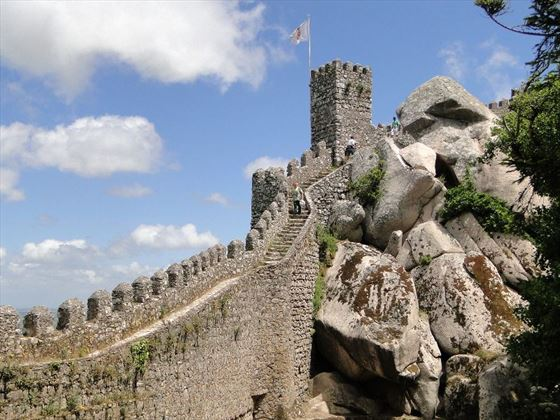 The Moorish Castle at Sintra