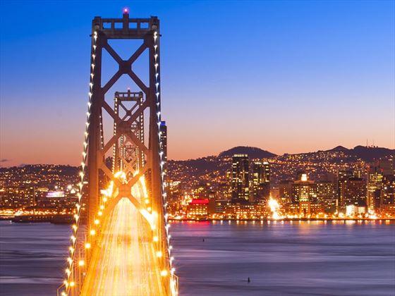 Bay Bridge panorama, San Francisco