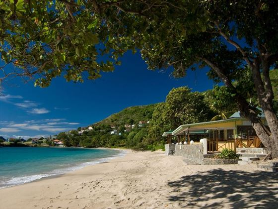 The perfect Caribbean secret beach