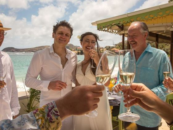 Wedding celebrations continue at Bequia Beach Hotel