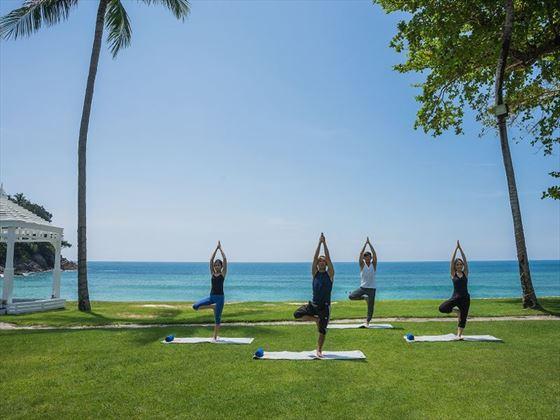 Beachfront Yoga