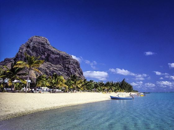 Beach at Le Morne, Mauritius