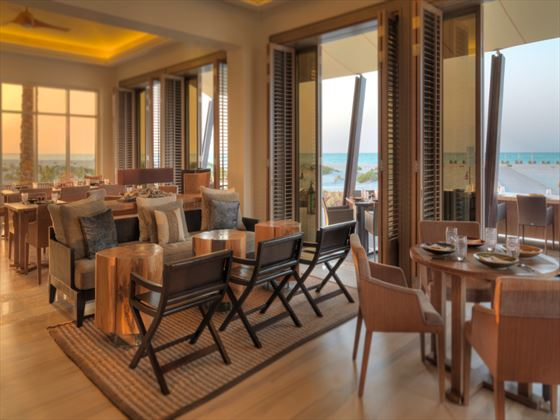 Beach House restaurant at Park Hyatt Abu Dhabi Hotel & Villas