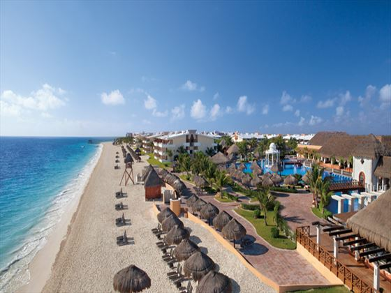 Beach image at Now Sapphire Riviera Cancun