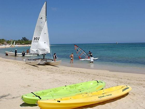 Beach watersports at Varadero Beach