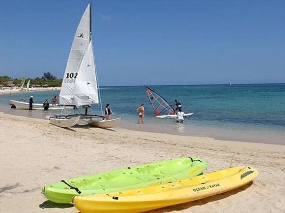 Beach watersports at Varadero Beach