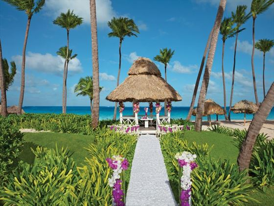 Beach gazebo, Dreams Palm Beach Punta Cana