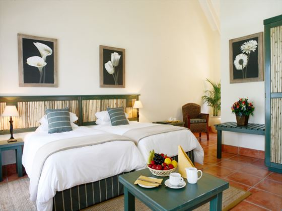 Bedroom at Knysna Hollow Country Estate