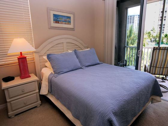 Bedroom at White Cap Boutique Condos