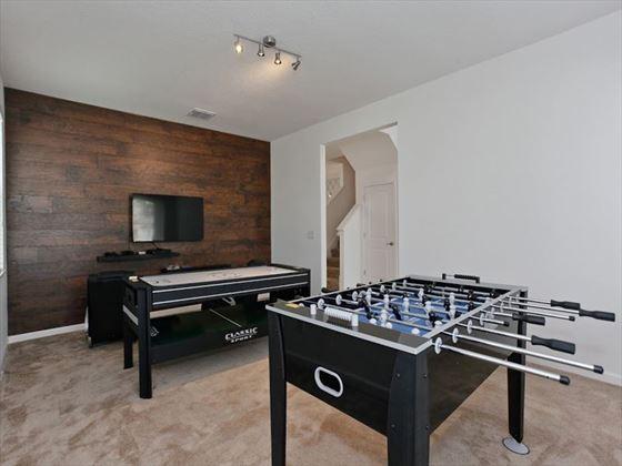 Bella Vida Resort Platinum Homes Games Room