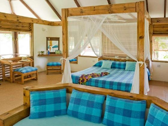 Bird Island Lodge chalet interior