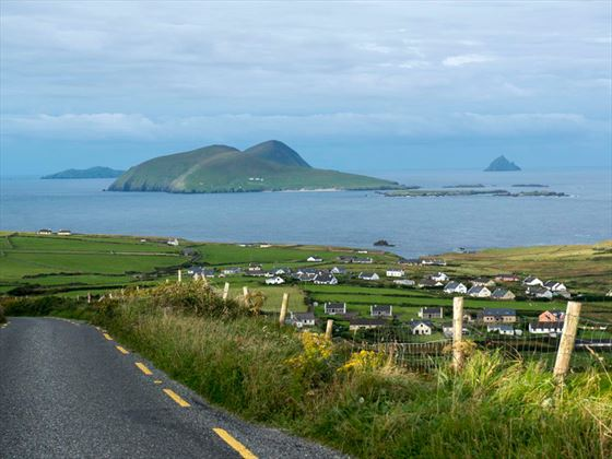 Drive to Slea Head to admire the views of the Blasket Islands