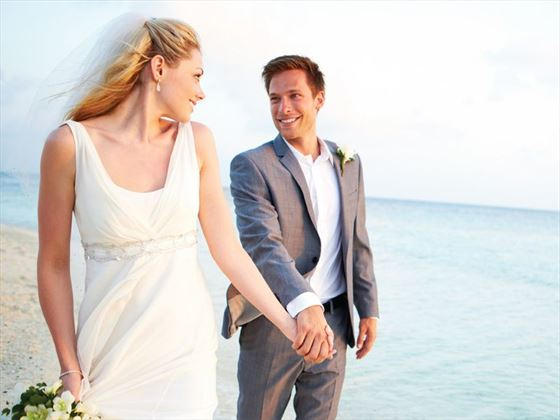 Wedding couple at Blau Varadero