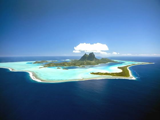 View of Bora Bora