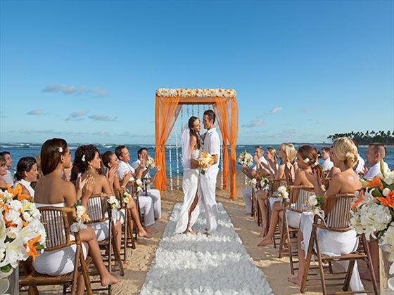 Wedding at Breathless Punta Cana Resort & Spa.