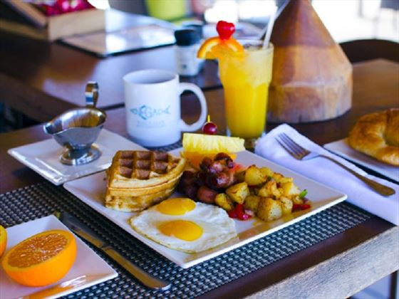 Wonderful Breakfasts at Anegada Beach Club