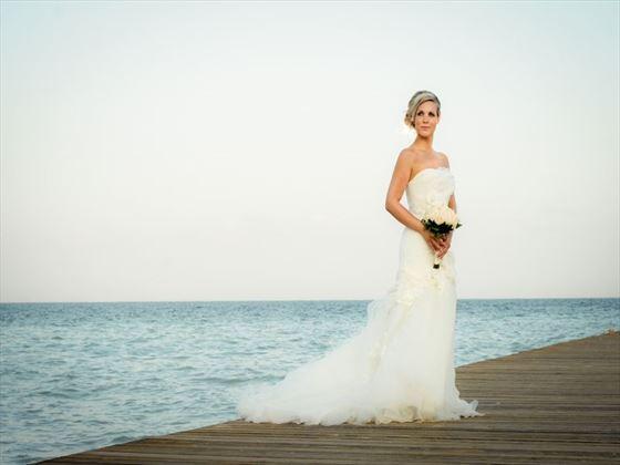 Bride at Moon Palace Resort