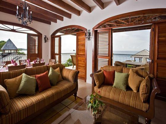 Cap Maison Villa living room